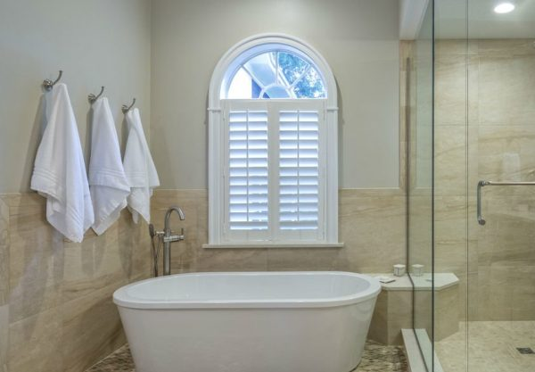 Bath Room Windows Shutters by star shutters