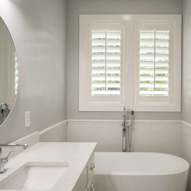 Bath Room Windows Shutters
