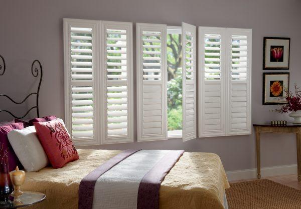 Bed Room window-shutters
