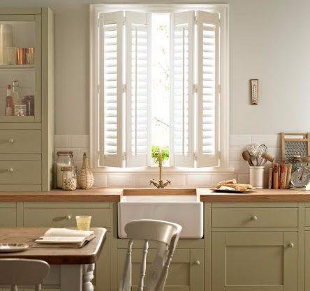 Kitchen Windows Shutters