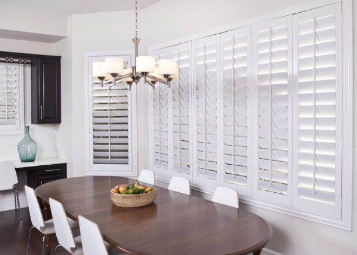 Dining Room Windows Shutters